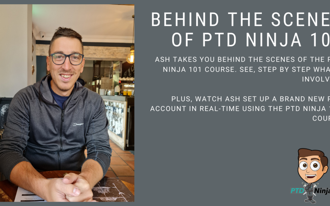 Behind The Scenes Of PTD Ninja 101